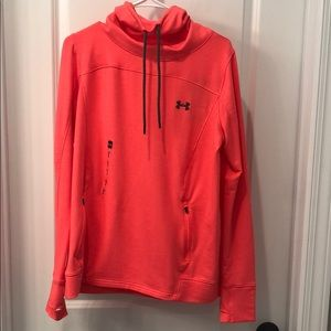 NWT Under Armour Cowl Neck Hoodie Large